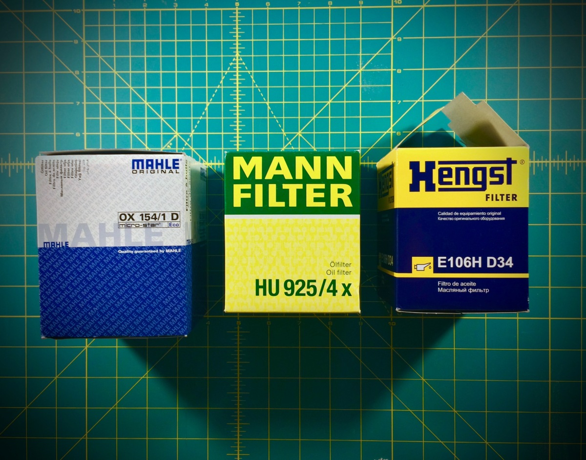 BMW | M54 oil filter comparison