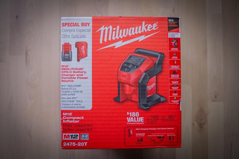 Milwaukee m12 inflator kit.
